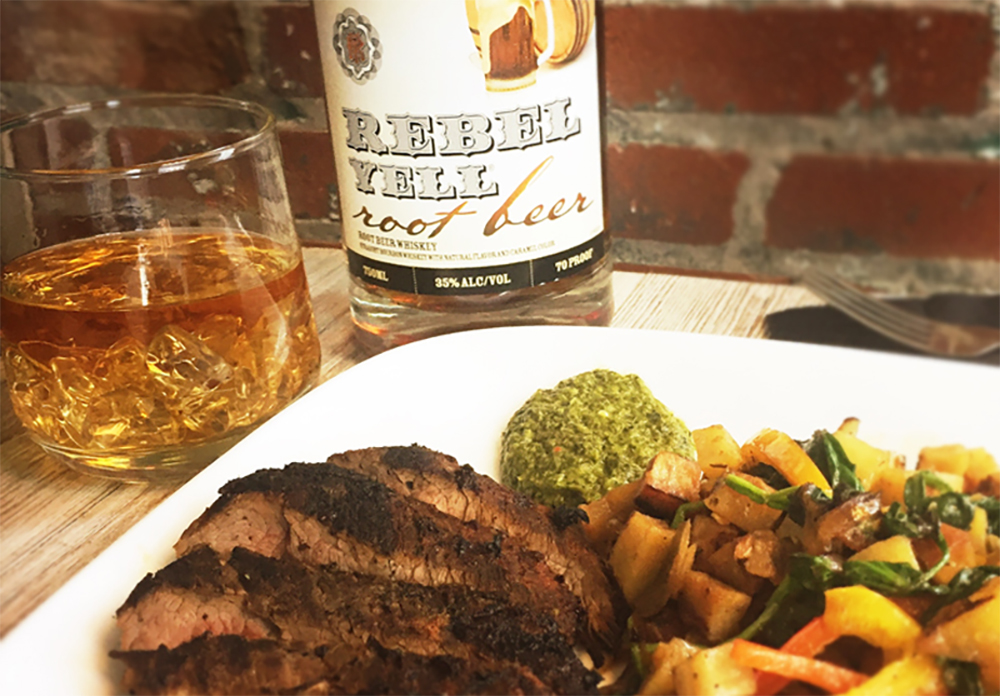 3 Foods To Pair With Rebel Yell Root Beer Whiskey