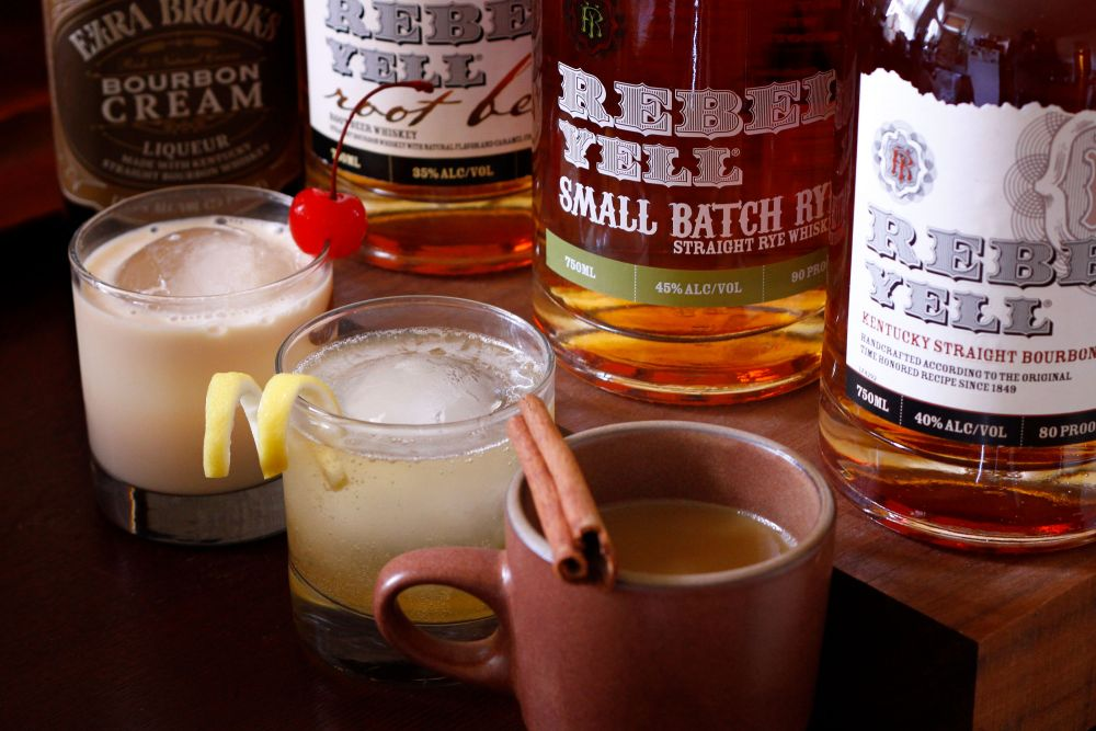 3 Holiday Whiskey Drinks Infused with Rebel Spirit