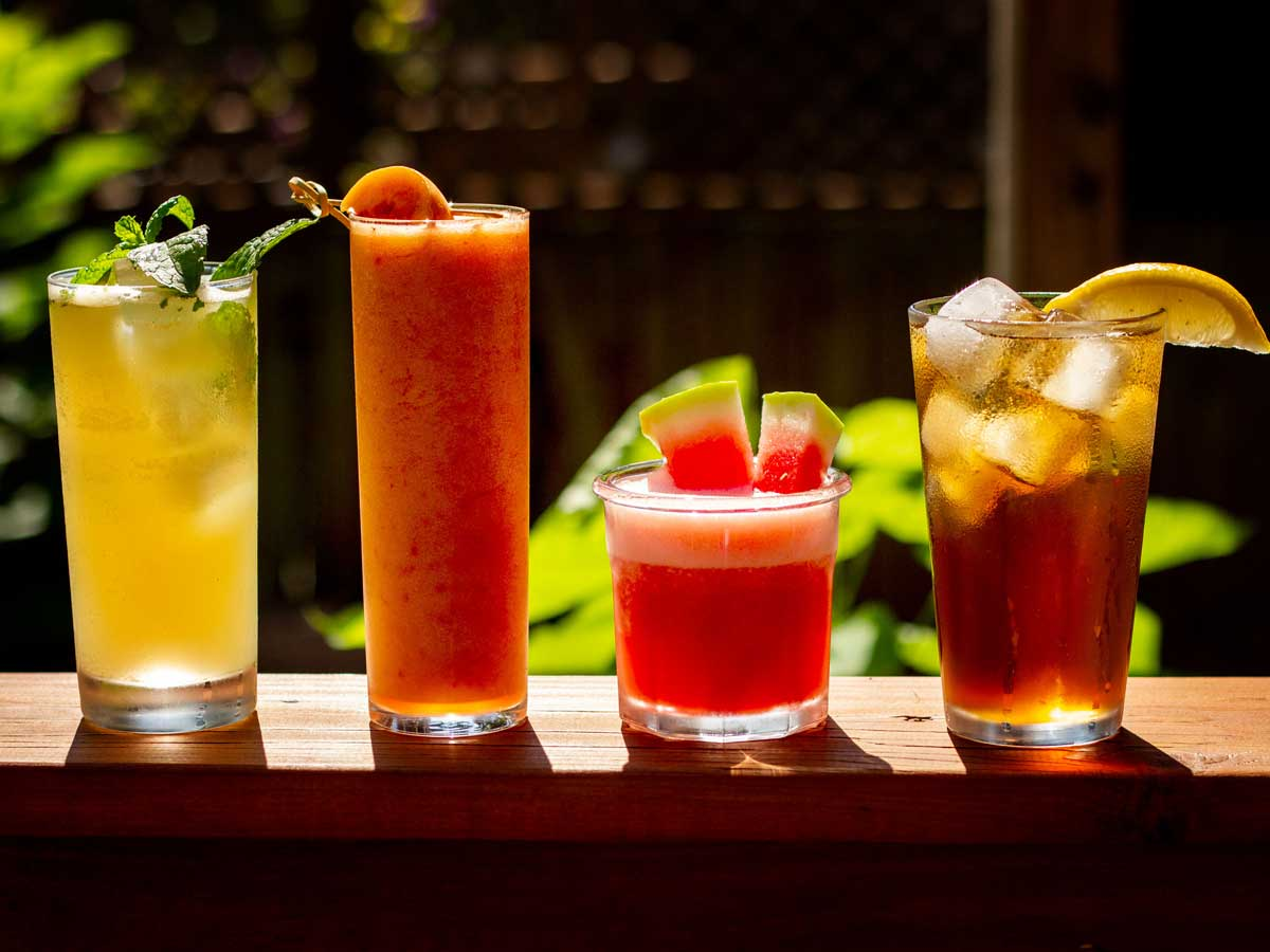 4 (Easy) Boozy Summer Whiskey Drinks