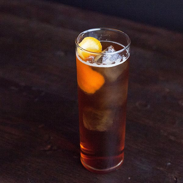 Bourbon-Amaro Highball Image