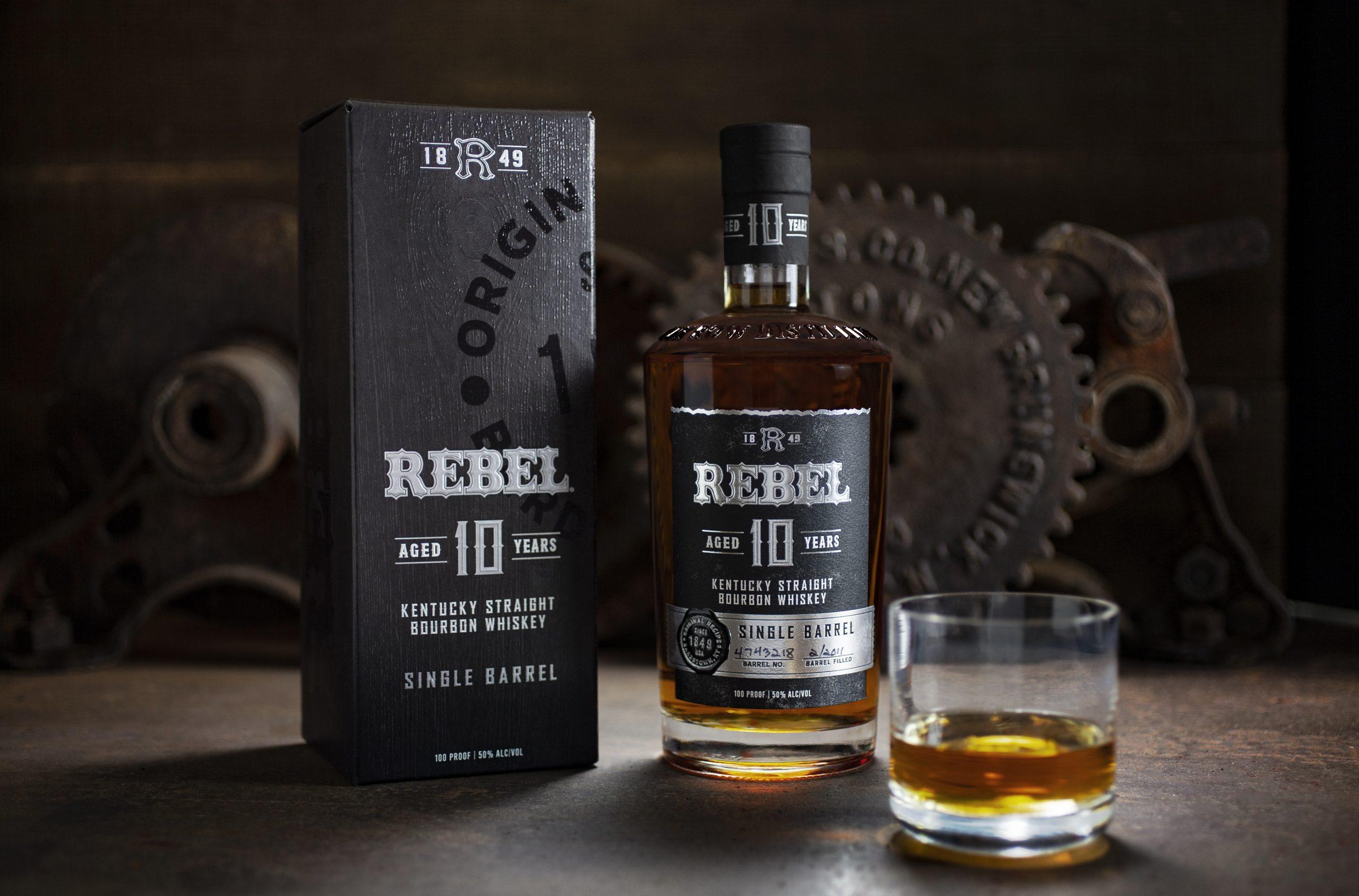 Rebel 10-Year Single Barrel Bourbon Gets a New Look!